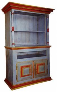 Armário colunas torneadas 2