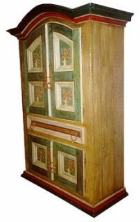 Armário oratório pintado