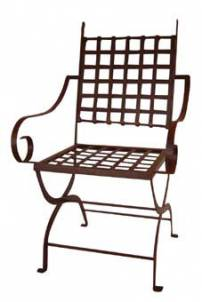 Cadeira de Ferro Xadrez