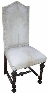 Cadeira Manoelina Couro Peludo