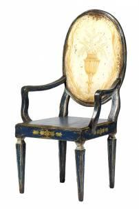 Cadeira Medalhão Vaso